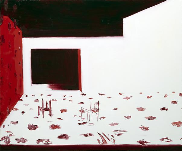 Interior 7 (Improbable Couple) , 2010 Oil on canvas 30 x 36 inches