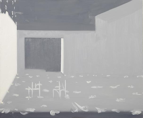 Interior 7 (Dappled Flash) , 2010 Oil on canvas 25 x 42 inches