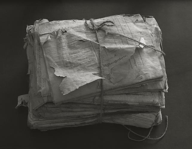 Old Documents 1993 gelatin silver print