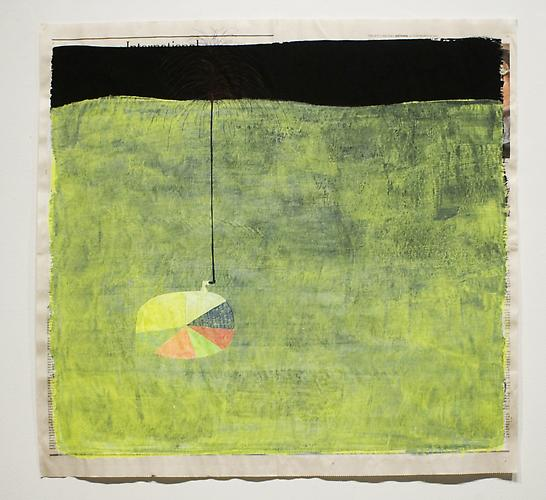 The Show , 2012, mixed media on paper, 21 x 24.25 inches