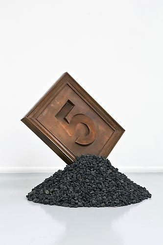 JONATHAN BOROFSKY 5, 1993 Copper, soil Edition of 8