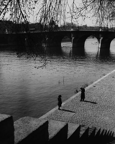 Portneuf, Paris, France 1948 gelatin silver print