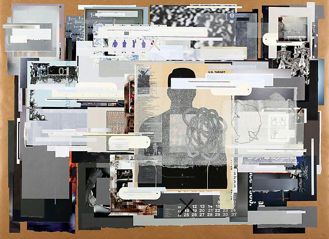 Profiling Suspicion, 2011 paper on paper 44 x 60 inches