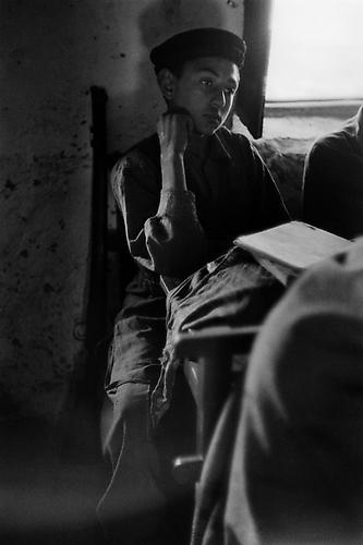 In a school, at the broder between Pakistan and Afghanistan 1956 Gelatin Silver Print
