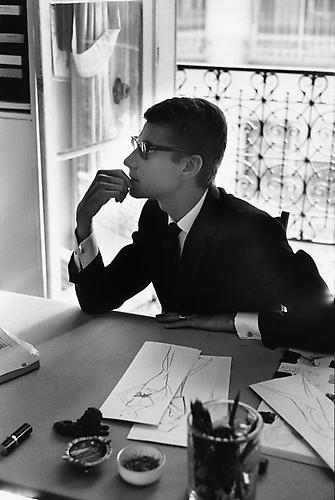 Yves Saint-Laurent, France 1964 Silver Gelatin Print