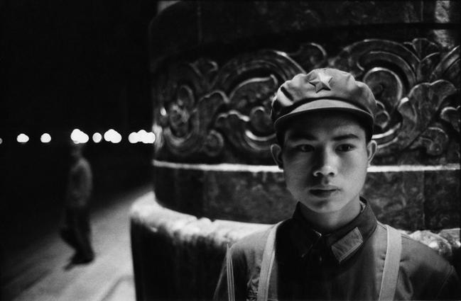 Young Soldier, Beijing, China  1971 Gelatin Silver Print