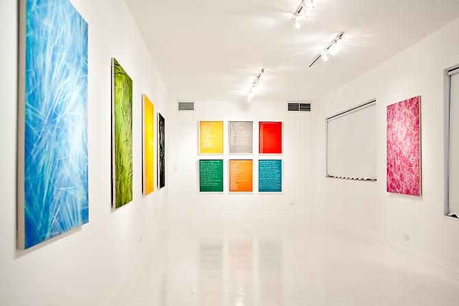 Installation view Gavlak Gallery, 2012