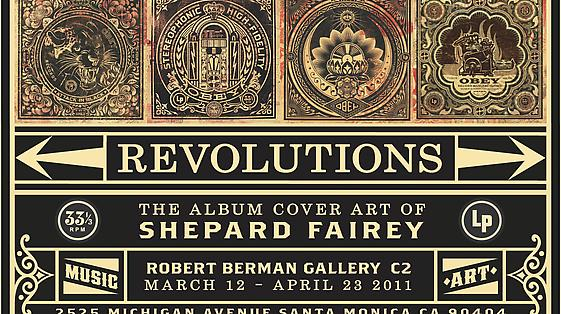 Revolutions: The Album Cover Art of Shepard Fairey