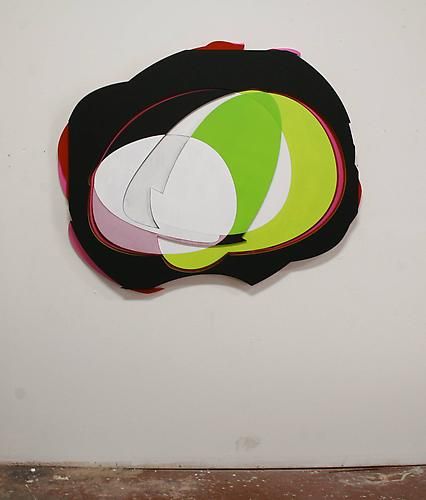 Lars Ittner, 2011 Acrylic on MDF 48 x 58 x 2 inches $7,500