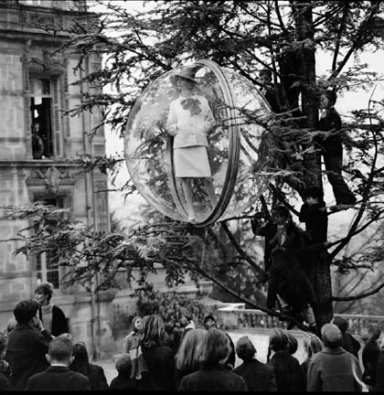 School Yard Tree, Paris 1963 gelatin silver print