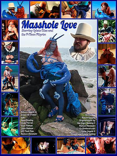 Rebecca Goyette Poster for film  Masshole Love , 2013 Running time 34:30  View trailer here.