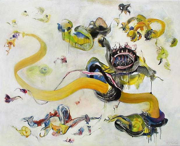 Nancy H. Taplin  Speechless , 2011 oil on linen, 40.5 x 51 inches Listing #6