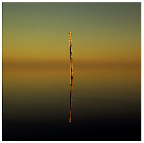 Untitled (Salton Sea-as above so below), 1999 Archival pigment print mounted on sintra and plexiglass Edition of 10 35 x 35 inches