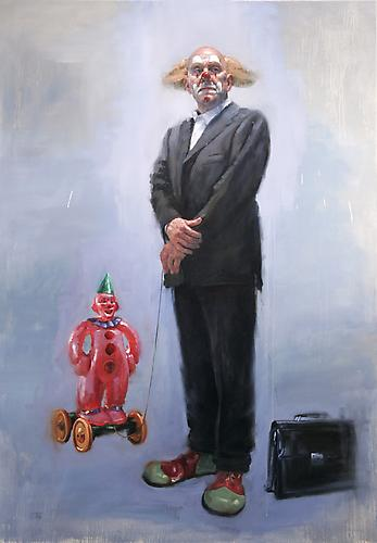 Jorg Dubin Sandman, 2008 Oil on linen 72 x 50 inches