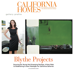 Blythe Projects California Homes Magazine Profile