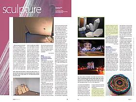 Lia Halloran featured in Sculpture Magazine