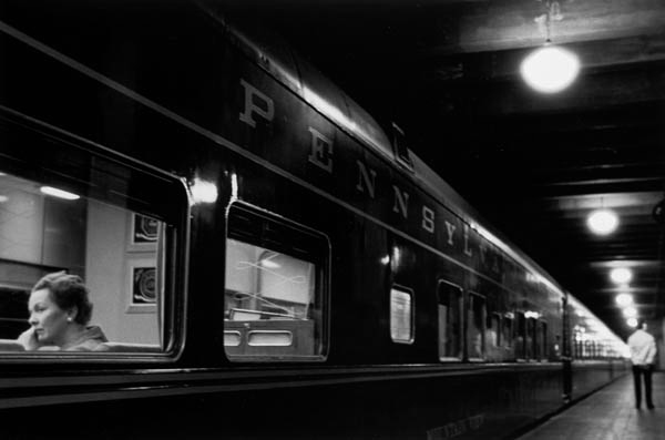 Six Lights, Penn Station, New York 1958 Gelatin silver print