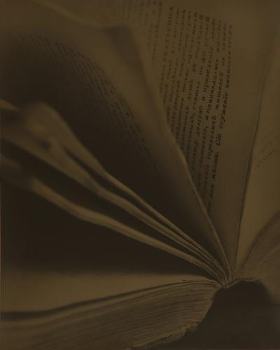 The Open Book 2010 gelatin silver print