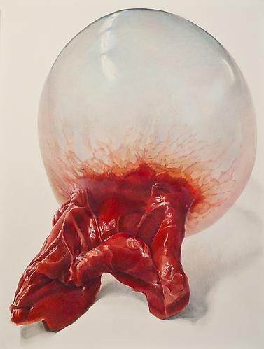 Strawberry, 2012 Colored pencil on paper 24 x 18 inches