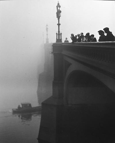 London, Westminster Bridge gelatin silver print