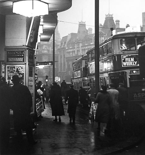 London, Astora Cinema, Charing Cross Road 1934 gelatin silver print
