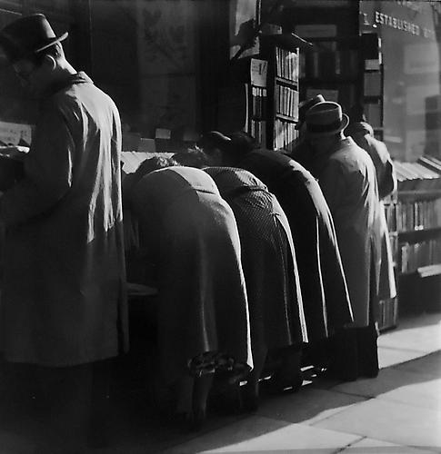 London, Charing Cross Road [Bookstore] 1937 gelatin silver print
