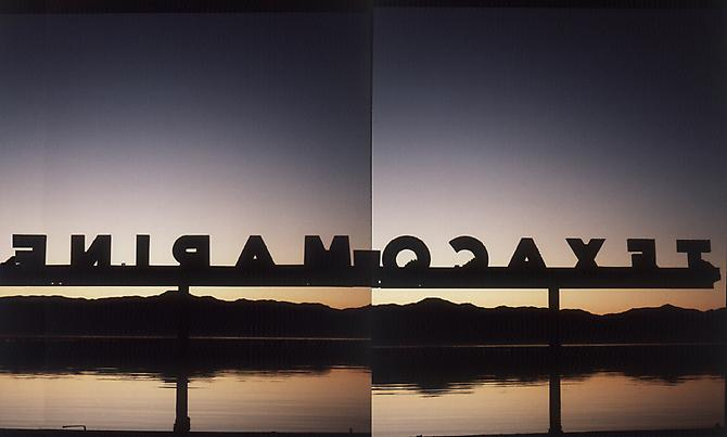 Untitled (TexMar-2012) Salton Sea, 1999 Archival pigment print 53 x 37 inches