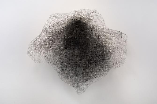 Tony Feher Untitled, 2009 polymer netting 40 x 52 x 21 inches