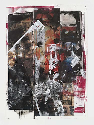 Tamar Halpern Broken English, 2010 Ultra-chrome ink and silkscreen ink on paper 71 1/4 x 50 1/4 inches
