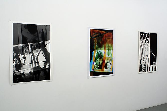 Installation View: Museum 52, New York. Separate Entities, curated by Natalia Sacasa, January 28 - March 8, 2009.