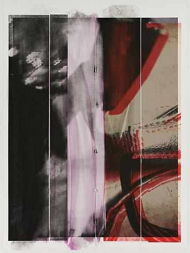 Tamar Halpern Untitled, 2011 Ultrachrome ink on paper 90 x 70 inches