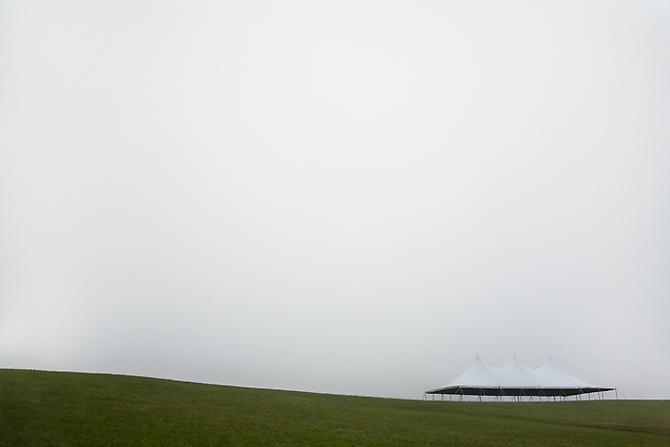 Tent #1, 2006 Archival pigment print Edition of 10  20 x 30 inches