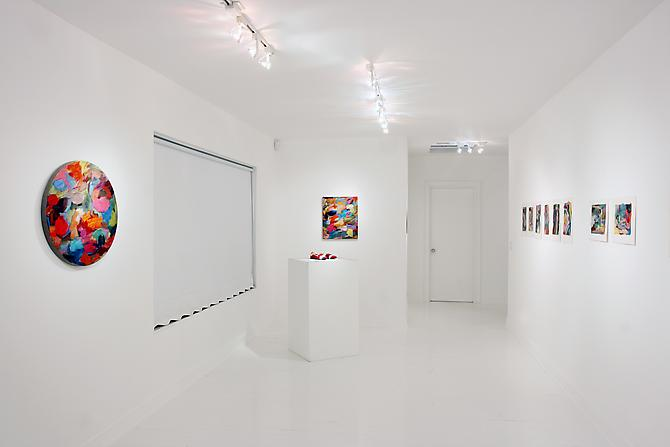 Installation view Gavlak Gallery, 2011