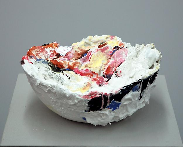 The Sea! The Sea!, 2009 Plaster and oil and glass 10 x 10 x 4.5 inches