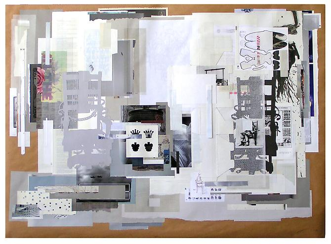 Capital Punishment, 2009 paper on paper 60 x 40 inches