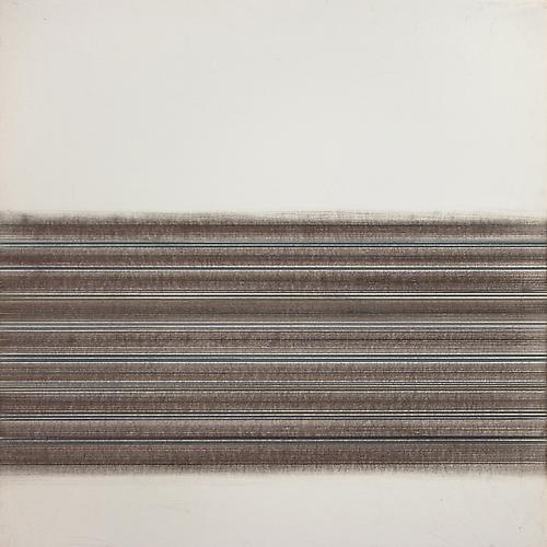 Toccata #45, 2012 Copper/silver/brasspoint/colored pencil, graphite, and gesso on paper 14 x 14 inches