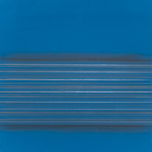 Toccata #54, 2012 Copper/gold/silver/aluminum/tin/pewterpoint, graphite, and blue gesso on paper 12 x 12 inches