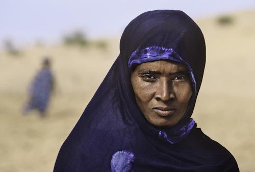 Tuareg Woman 1986 C-type print on Fuji Crystal Archive paper
