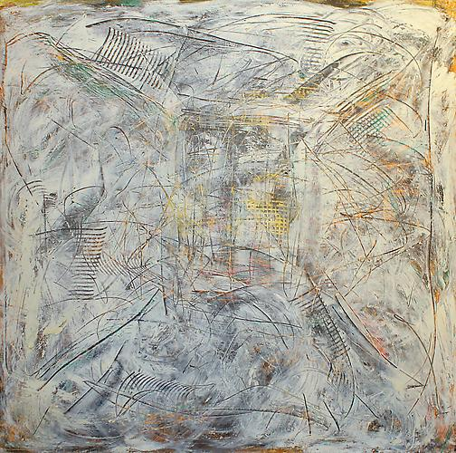 Untitled, 1996 Oil on canvas 63 x 64 inches