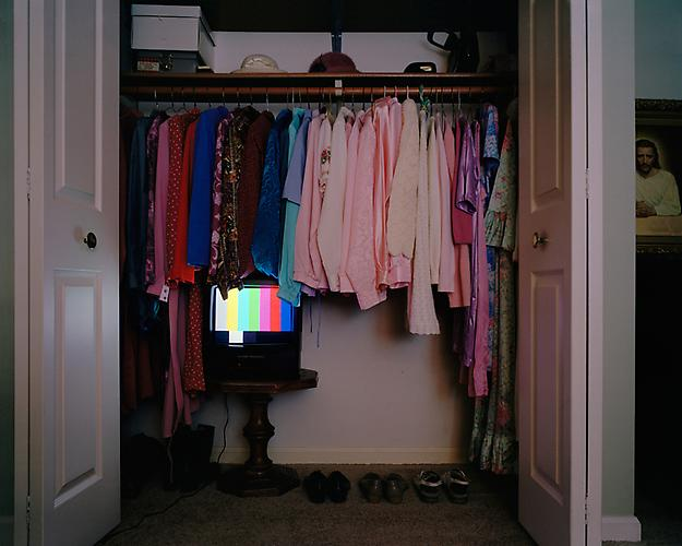 Angela Strassheim,  Untitled (Grandmother's Closet) ,  Installation