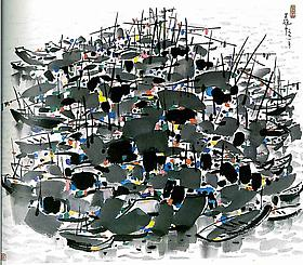 New Aquisition - Wu Guanzhong, 1991