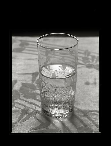 Water Glass 1999 gelatin silver print