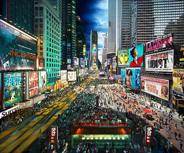 Times Square 2011 Digital C-print