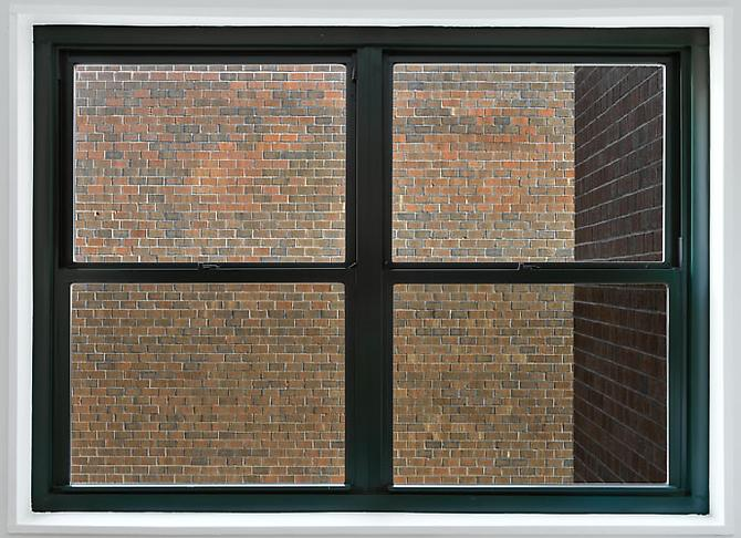 David S. Allee, Bricks (ed. 6, 2012) Chromogenic Print 29h x 40w in (73.66h x 101.6w cm)