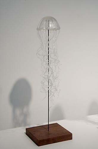 Jellyfish 3, 2011 epoxy and resin 22 x 6 x 6 inches