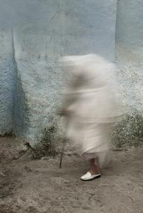 """White Cane"" Sharon Johnson-Tennant Archival Pigment Print, 2012"