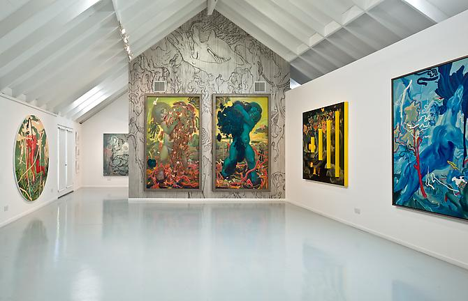 Installation View, 2011