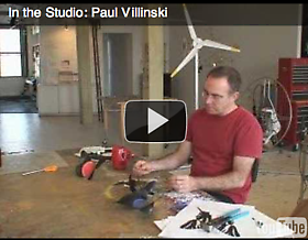 In the Studio: Paul Villinsk
