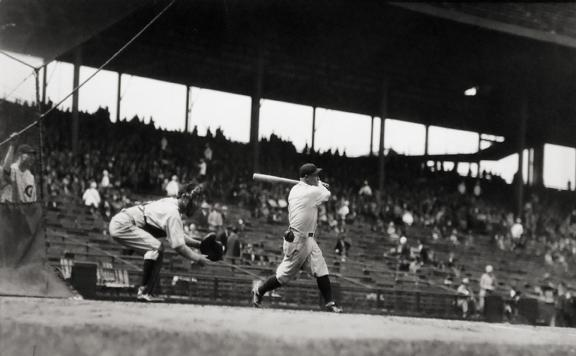 Hack Wilson Batting not dated gelatin silver print