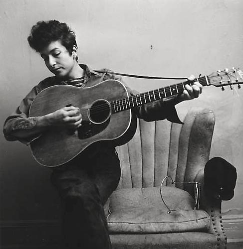 Bob Dylan, New York Apartment 1963 Gelatin Silver Print
